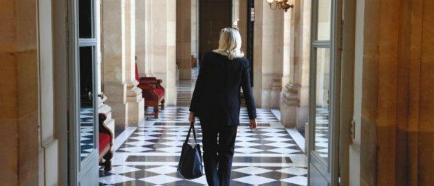 Marine Le Pen apparaît encore bien placée pour parvenir au second tour en 2022. Pis, les idées du FN-RN ont irrigué la société. © Thomas Coex/AFP