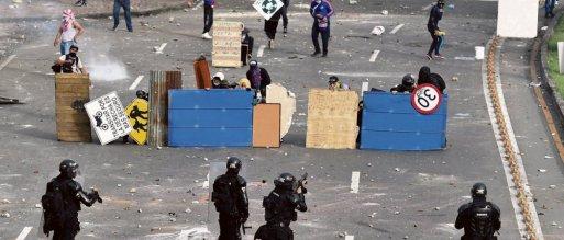 L'ONG Tremors recensait, mardi, 31 morts à l'échelle du pays. Luis Robayo/AFP