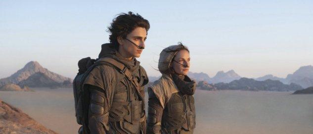 Dans « Dune », de Denis Villeneuve, Paul Atréides (Timothée Chalamet) et lady Jessica Atréides (Rebecca Ferguson) vont devoir comprendre un monde nouveau et hostile. L'enjeu : la survie de l'humanité. © Chia Bella James