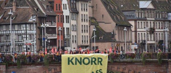 Manifestation à Strasbourg, le 20 septembre.
