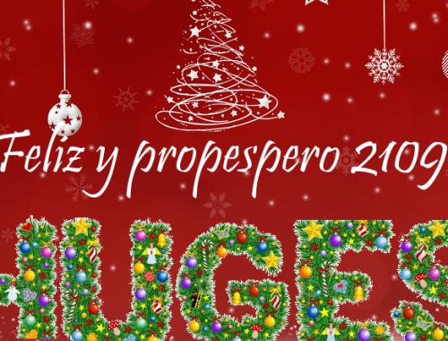 Los integrantes del Proyecto HUGES os deseamos Felices Fiestas