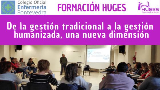 Formación HUGES en el Colegio de Enfermería de Pontevedra