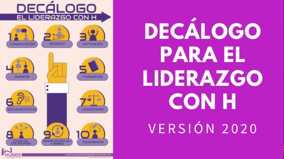 Decálogo HUGES 2020