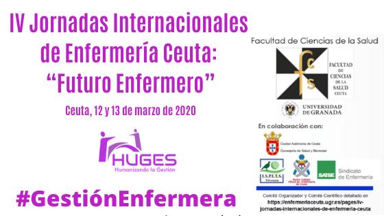 """IV Jornadas Internacionales de Enfermería Ceuta: """"Futuro Enfermero"""""""