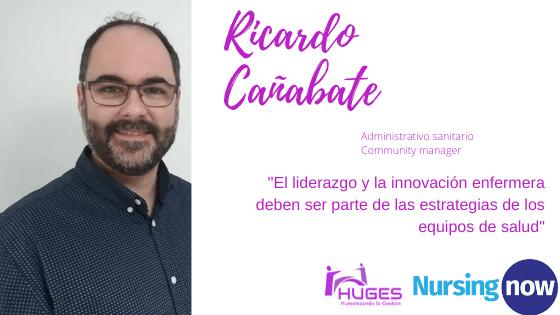 """Ricardo Cañabate.''El liderazgo y la innovación enfermera deben ser parte de las estrategias de los equipos de #salud"""""""