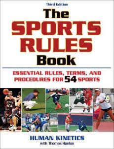 Sports Rules Book 3rd E
