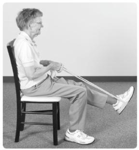 Resistance band exercises improve older adults upper and