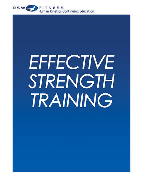 Effective Strength Training