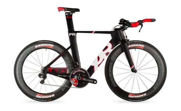 Figure 1.7 a Quintana Roo PRsix Triathlon Bike.
