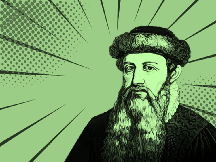 Heroes of Progress, Pt. 14: Johannes Gutenberg - HumanProgress