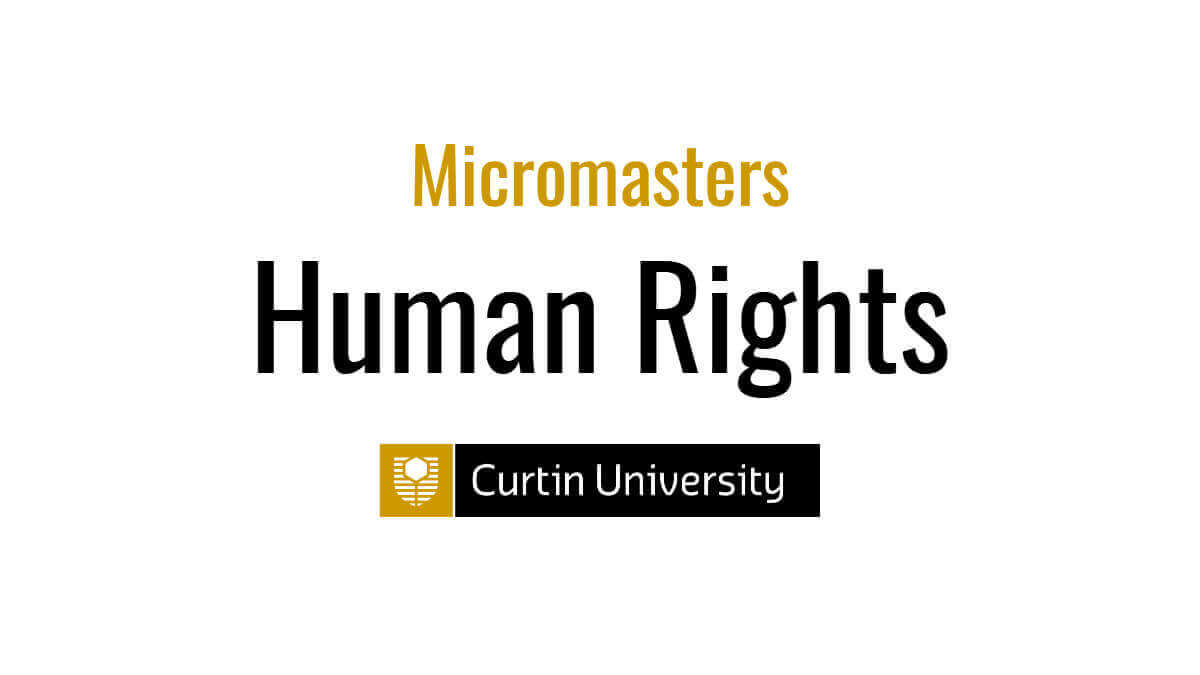 Curtin University launches Micro Masters in Human Rights