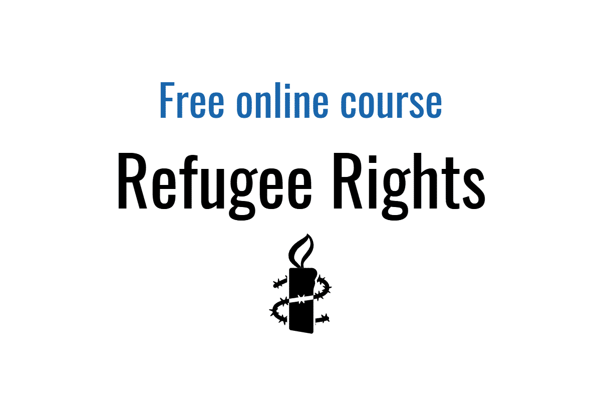 Free online course: The Rights of Refugees (Amnesty