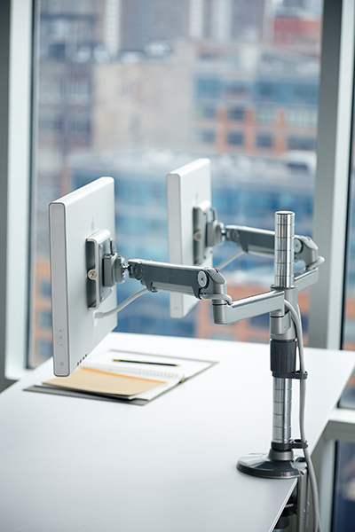 MultiMonitor Arm  Support  MFlex  Humanscale