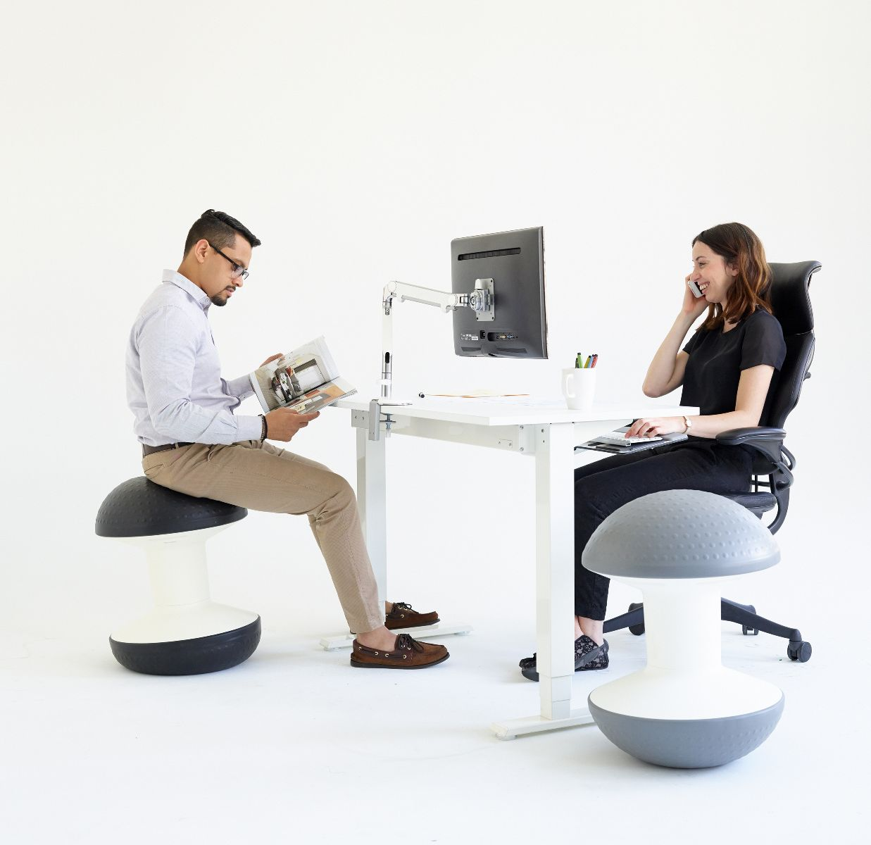 posture chair demo bean bag chairs cheap walmart ballo stool active sitting innovative ball humanscale res