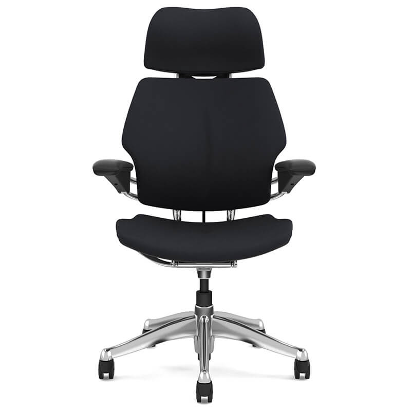 posture executive leather chair office depot computer chairs ergonomic freedom task humanscale headrest