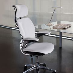 Humanscale Diffrient World Chair White Custom Dining Chairs Ergonomic Office & Executive | Freedom Task