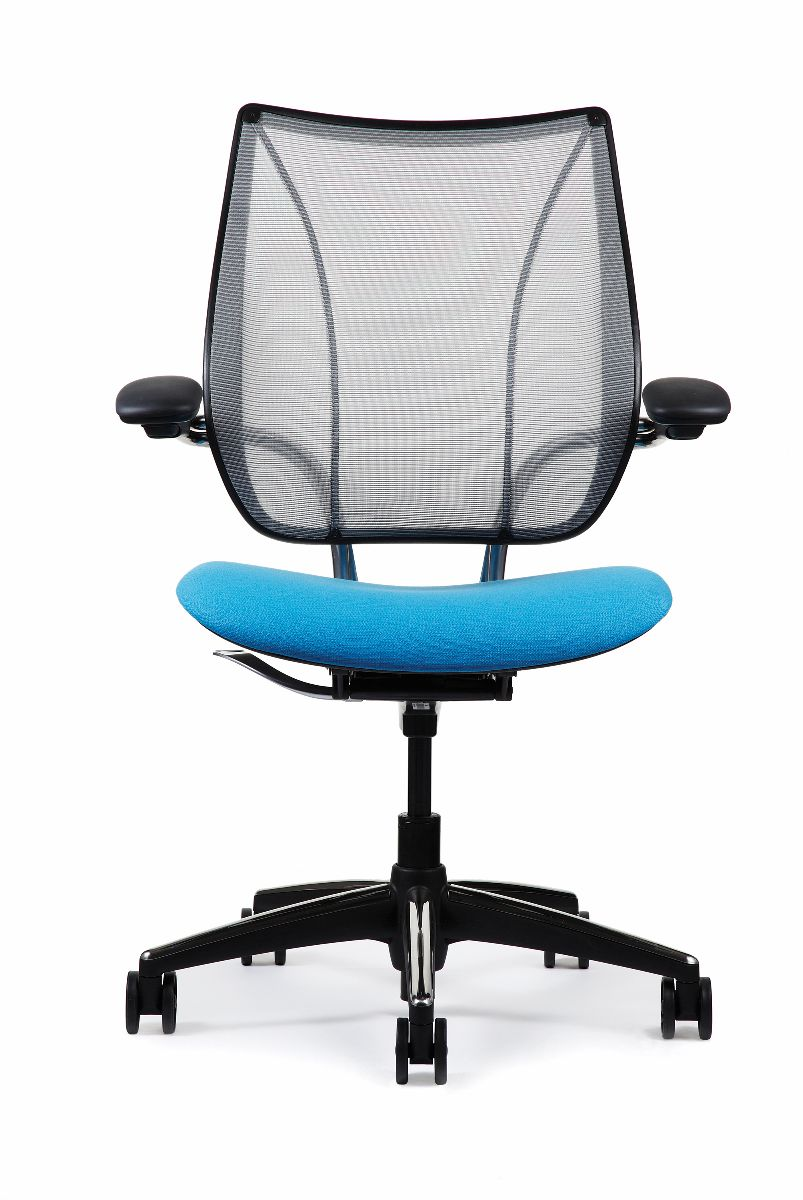freedom task chair with headrest cheap high covers liberty   ergonomic seating from humanscale