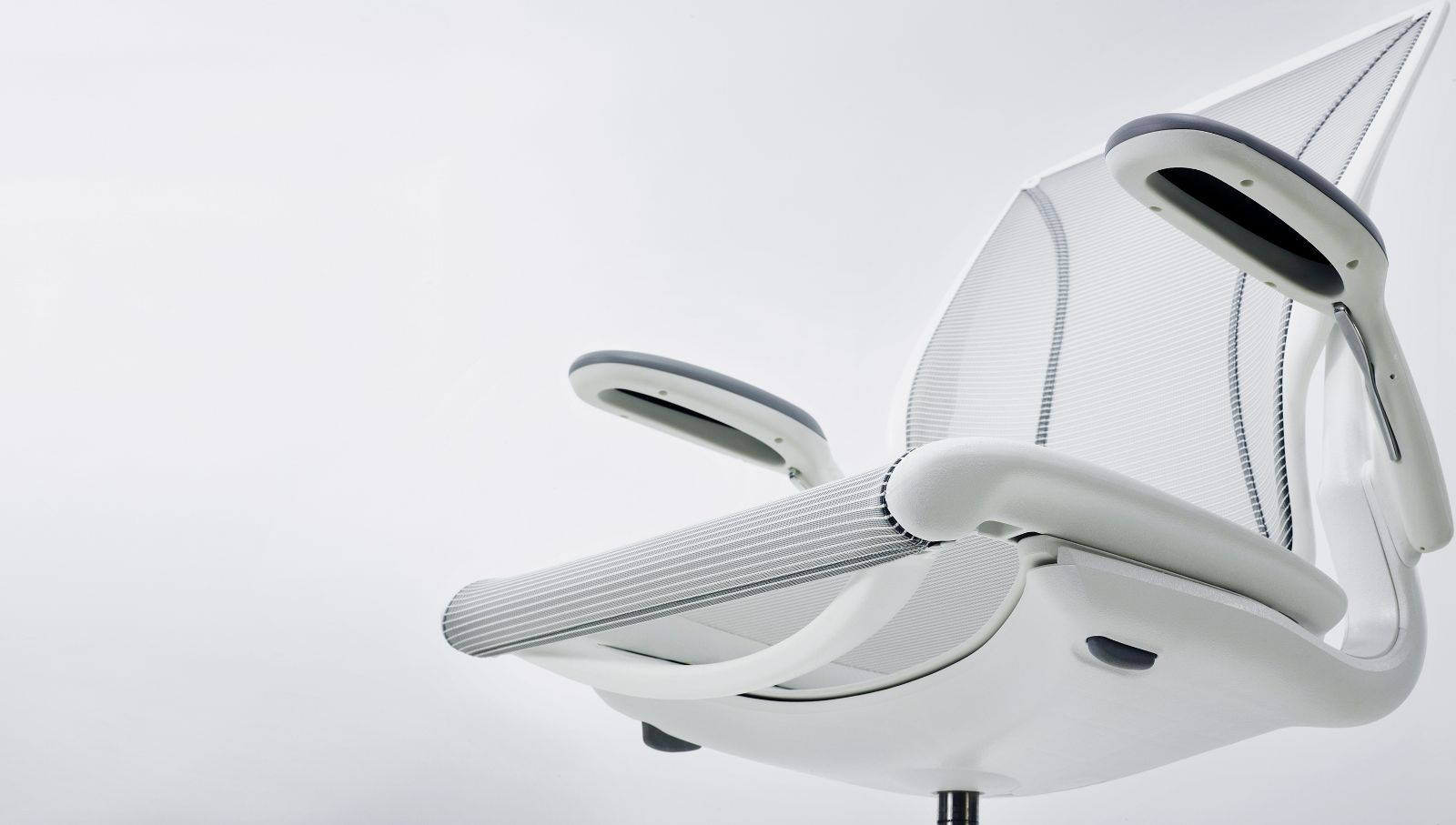 humanscale diffrient world chair white grey table and chairs mesh desk ergonomic
