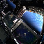 Cupola-and-Earth-during-Dragon-CRS-4-approach
