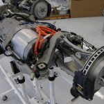 Tesla Model S electric motor and inverter