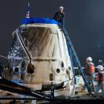 The first Dragon capsule recovered
