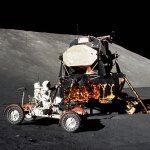 Apollo Lander and Rover