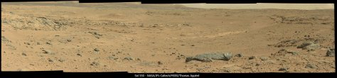 Mastcam view of Kylie on Sol 550