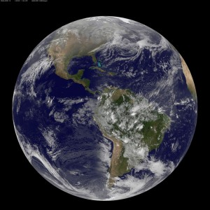Earth on Vernal Equinox