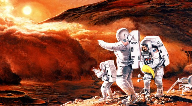 Humans On Mars Article Part 1