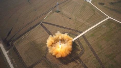 SpaceX Grasshopper June 2013 Test Flight