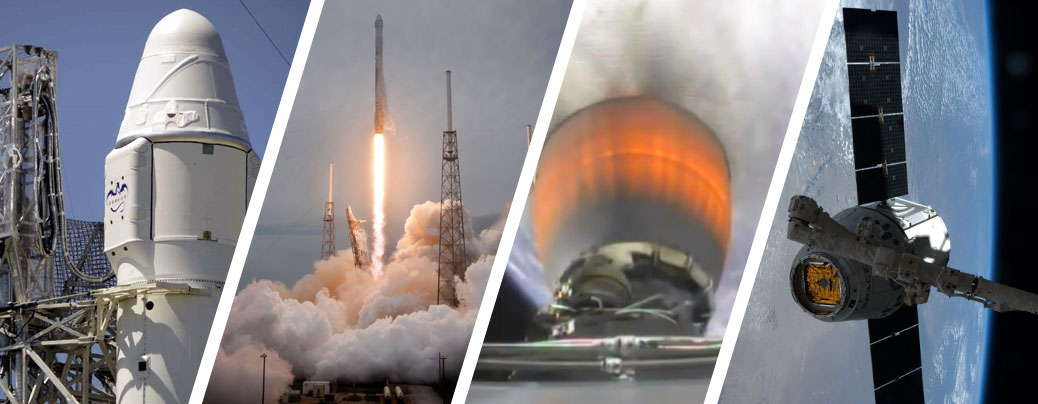 CRS-3 Successful Liftoff