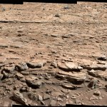 Curiosity panorama Mt Remarkable Sol 597 601