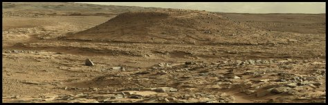 Curiosity panorama MtRemarkable