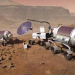 Mobile Hab on Mars