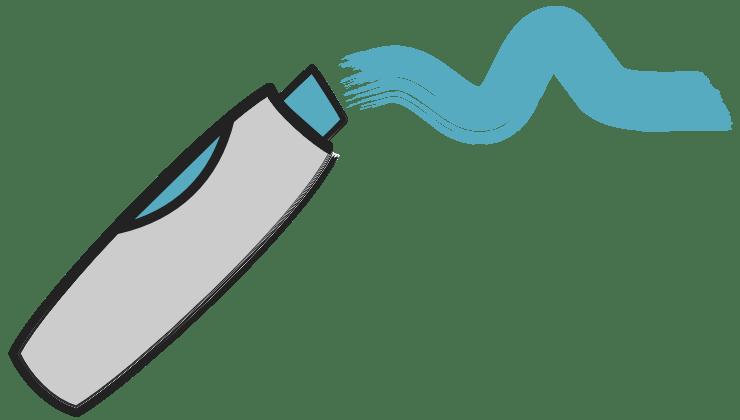 Marker Blau