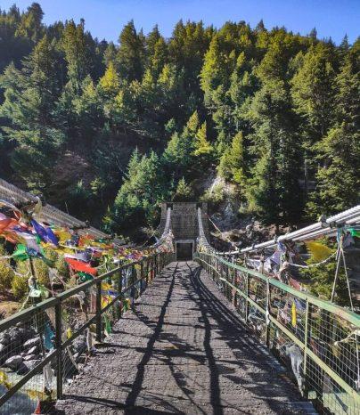 Lama Tekri A Hill Of Harsil Ghati
