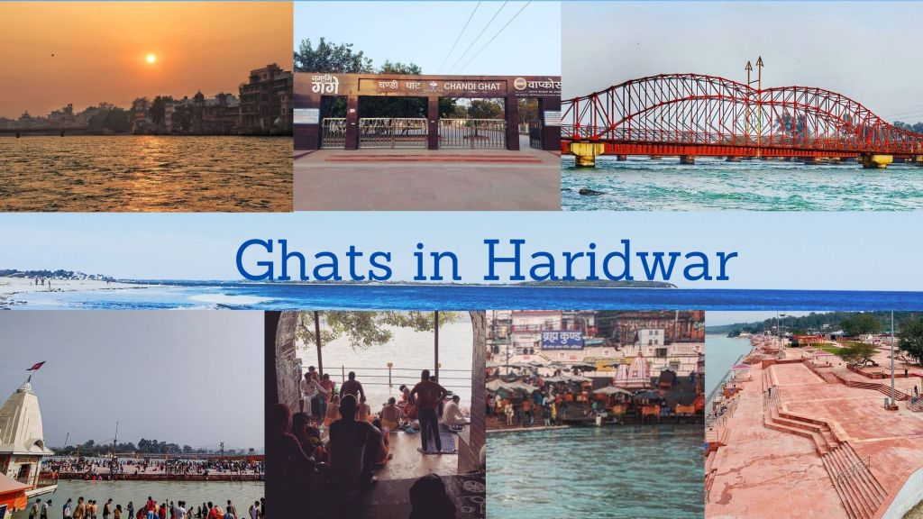 Major Ghats of Haridwar