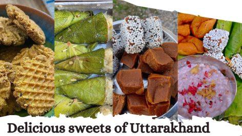 Delicious sweets of Uttarakhand