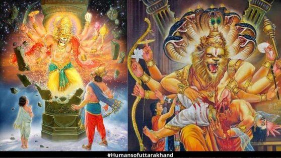 Birth of Prahlad a devotee of Lord Vishnu