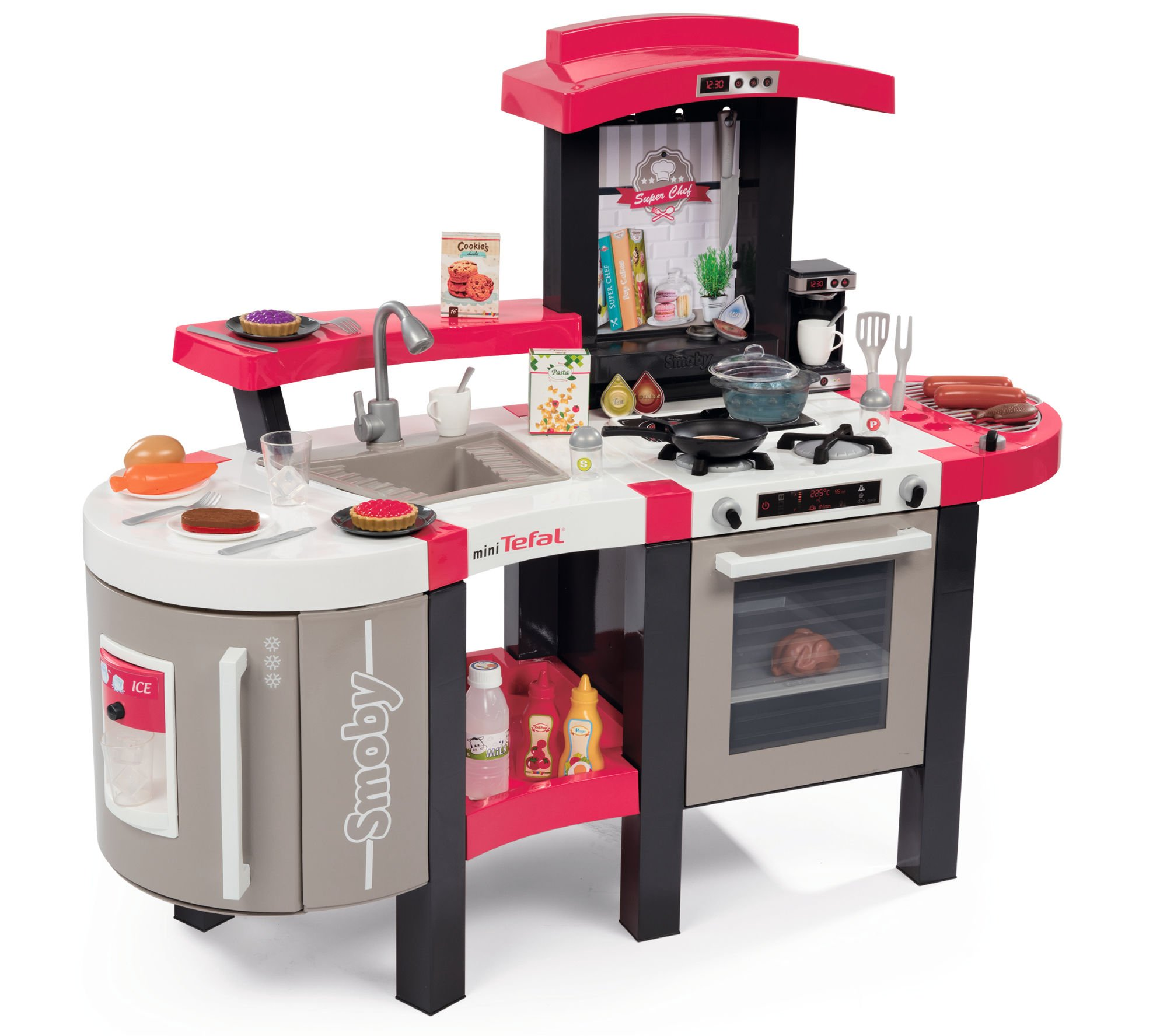 Smoby Kuchnia elektroniczna mini Tefal Superchef De Luxe
