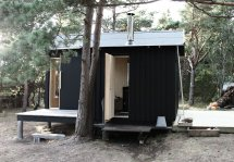 Small Cabin In Woods Septembre Architecture