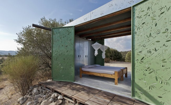 The Olive Tree House An Experimental Tiny Home From Greece