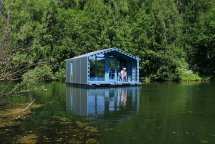 Dd16 - 179-square-foot Floating Tiny House Moscow