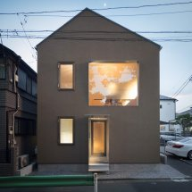 Case-real Create Private Family Home Exposed Tokyo