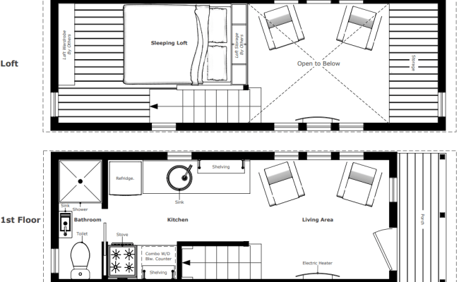 The Mcg Loft V2 A Tiny House For Year Round Living