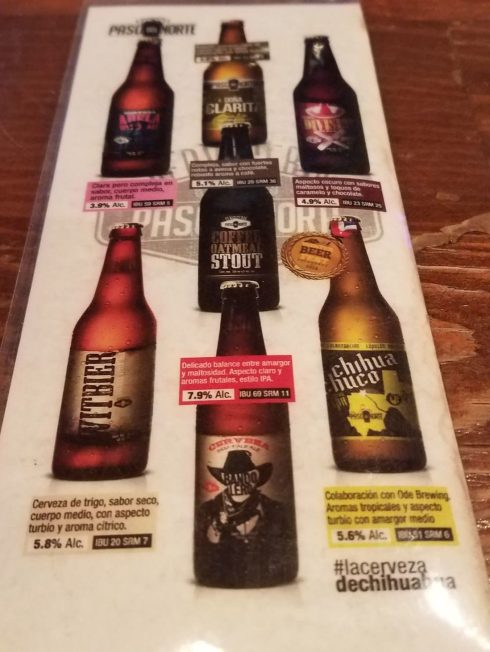 craft beer Juarez