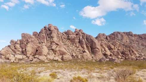 Scenic Mountain Range