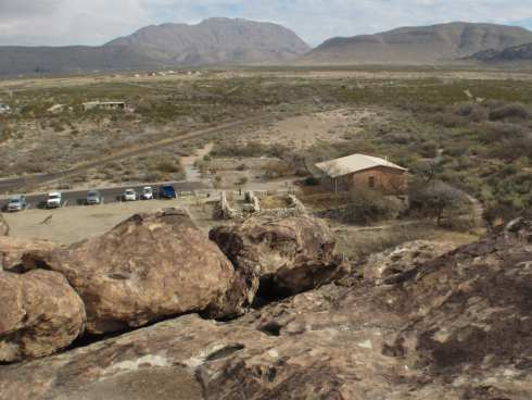 Hueco Tanks Mountains Information Station