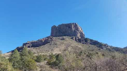 Big Bend National Park Mountain - Chisos Basin During Government Shutdown