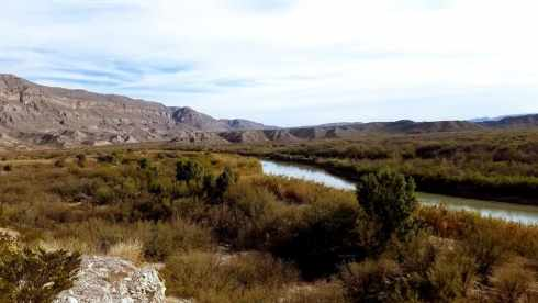Boquillas Canyon Rio Grande River - National Park During Government Shutdown